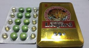 China American Leopard Herbal Men Enhancement Supplement , Male Sex Medicine on sale