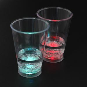 China Custom Designed  PS Material Flashing Light-up Liquid Cup / LED Flashing Cup for Bars, Discos and Parties on sale