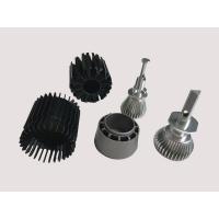 China Black Aluminium Heatsink Extrusion With Anodizing Surface treatment +/- 0.005mm Tolerance on sale