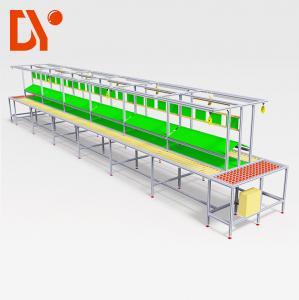China Lean Pipe Flexible Production Line Custom Size Manuel Autonatic Type on sale