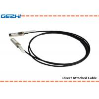 10G SFP+ to SFP+ DAC Cables Direct Attach Passive Copper Cable For Storage Area Networks