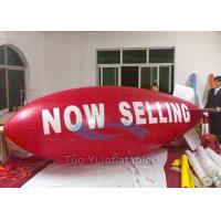Wedding Party Red Balloon Zeppelin Inflatables With Logo Printing