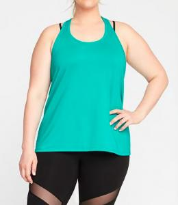 China Hot embossed plus size woman bodybuilding girls tank tops on sale