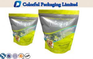 China O pvc do empacotamento de alimento de Environmentalc biodegradável levanta-se o malote com janela on sale