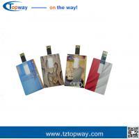 Flash drive custom logo 1gb~32gb ultra slim credit card usb stick for promotional gift