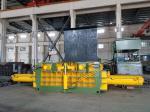 Scrap baling Machine / Hydraulic Metal Baler For Waste Aluminum , Stainless Steel