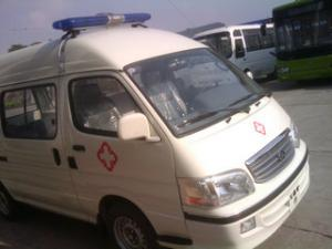 China Ambulance Protection Kinetic Special Vehicles With Gasoline Engine on sale