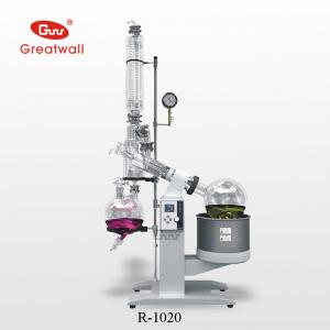 China Alcohol/Ethonal/Water distillation equipment- 20L Rotary Evaporator R-1020 on sale
