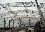 Estructura de acero prefabricada comercial de la empresa de Warehouse pintada con Hempel