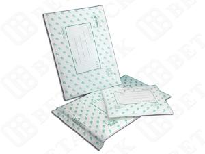China Fully Laminated Pearl Poly Bubble Mailer Envelope Mailing Pouches 100% Recycle on sale