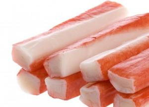 China frozen food/seafood surimi imitation crab stick on sale
