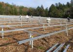 Galvanized Steel Ground Solar Mounting System Bracket / Racking / Stand