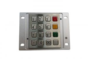 China Ss PCI CDM Industrial Keypad 16 Button For ATM Machine Panel Mounted IP65 Waterproof on sale