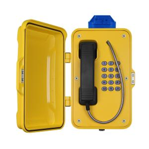 China IP67 Industrial Weatherproof Telephone With Beacon , PoE Powered Tunnel Phone on sale
