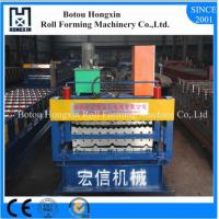 China Double Layer Roof Roll Forming Machine , Aluminum Sheet Metal Roller Machine on sale