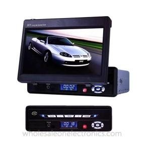 China 9.5 inch portable dvd player with fm tuner support SD/MMC card reader on sale