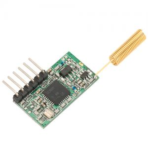 China 100mW Wireless Serial Data Module TTL to Wireless Mini-size RF Module on sale