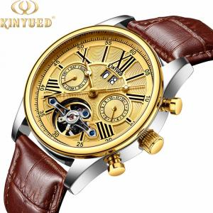 China Brand KINYUED 3 ATM Watch Manufacture Luxury automatic mechanical automatic mechanical men watch on sale