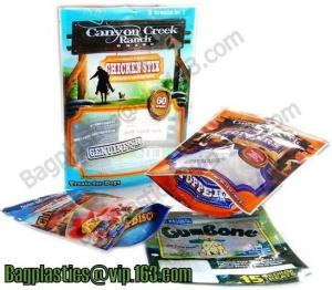China Gusset bags, gusset pouches, quad seal bags, flexible packaging, vacuum packaging bags on sale