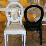 White Resin Louis Chair for Party Rental Cheap Resin Louis Chair for Wedding Rentals