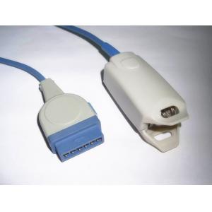 11 sensores reutilizables médicos de Spo2 gris plástico o azul del Pin ISO13485 alambre