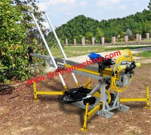 China EP200H Man portable core drilling equipment / 0 - 90 Degree hydraulic rig machine  on sale