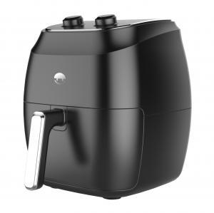 China Easy Clean Simple Air Fryer 4L Black / Blue / White / Red Color Plastic Material on sale