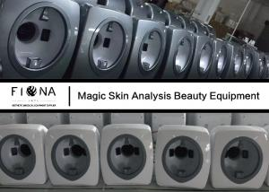 China Professional Skin Hair Analyzer Machine CCD1 / 1.7 Camera Sensor 4 Times Magnifying on sale