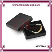 Euro popular black coated paper jewelry gift box/Men bracelet paper box ME-ZB003