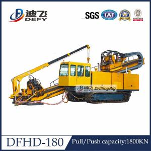China Underground Pipeline Laying DFHD-180 Horizontal Directional Drilling HDD Rig on sale