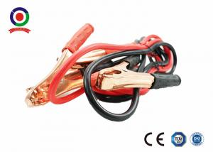 China Red / Black Jump Leads Booster Cables PVC Insulation With Voltage Overload Protector on sale