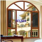 High end Composite Wood clad aluminum casement Windows with Double Glazing