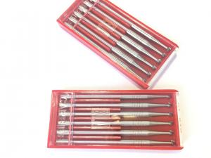 China Ball Shape Carbide Cutting Tools , Dental Laboratory Burs High Durability on sale