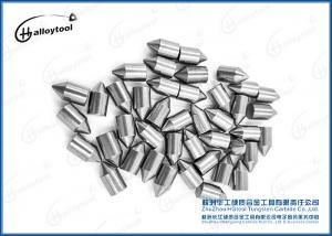China High Hardness Tungsten Carbide Buttons / Tips For Auger Tips In Excavators on sale