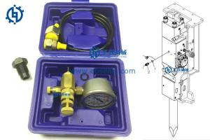 China High Precision Soosan Breaker Parts Nitrogen Charging Kit For Hydraulic Breaker on sale