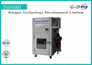 China Hydraulic Battery Testing Machine Battery Test Chamber 150~200kg Penetrability on sale