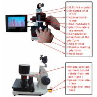 China High Accuracy Nail Folding Microcirculation Microscope with High Definition Video Screen 8 inch on sale