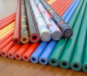 China Corrosion Protection Fiberglass Pole for Golf Practice Nets on sale