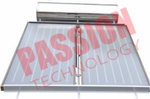 China Pressurized Flat Plate Solar Water Heater Rooftop Intelligent Controller on sale