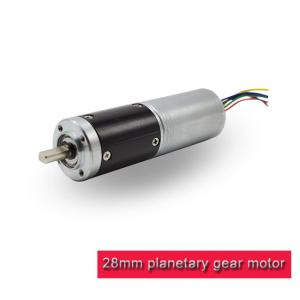 China 3 - 24v Metal Small Planetary Gearbox , Micro Planetary Gear Motor For Smart Robots on sale