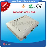 HZW-G801-T ONU GPON 1GE+CATV GPON ONU with high quality from HUANET