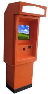 China 17 Dual Screen Self Service Banking Kiosk , Outdoor Internet Payment Kiosk on sale