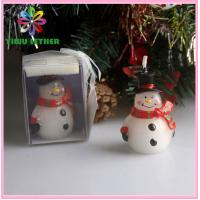 Art Candle / Christmas Snowman Candle / Arts and Crafts Candles