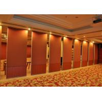 Red Carpet  Finish Temporary Office Walls  For KTV 800 - 1230MM