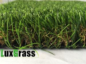 China Garden Artificial Grass 35 MM Pile Height  Synthetic Grass on sale