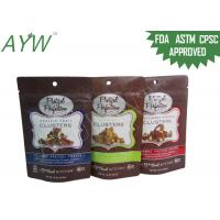 Plastic Food Stand Up Ziplock BagsMoisture Resistant , PET Biodegradable Food PackagingPouches