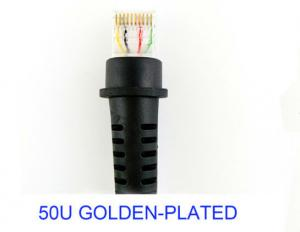 Precision Coiled RJ48 10p10c Barcode Scanner USB Cable For