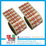 Etiqueta adesiva feito-à-medida da venda quente da fábrica