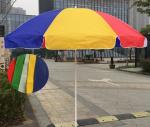 Durable Outdoor Parasol Umbrella Beach Umbrella With Carbon Steel Ribs