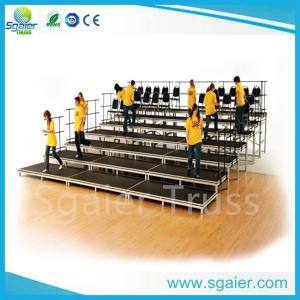 China school /church used Portable aluminium platform choral riser for sale on sale